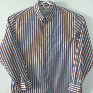 Banana Republic Factory Stripe Button-Up XL